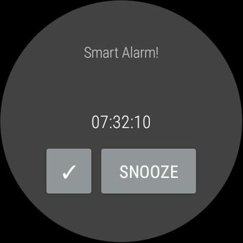 Smart Alarm and Sleep Tracker for Android Wear screenshot 3