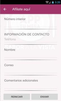 AppTuMesa CANIRAC Puebla screenshot 3
