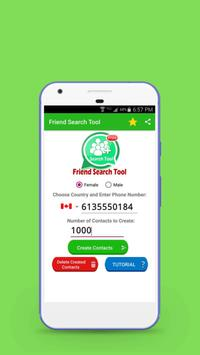 Friend Search Tool poster