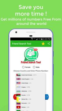 Friend Search Tool screenshot 1