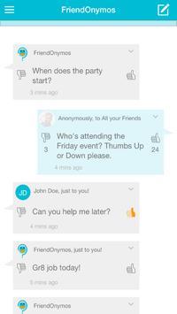 FriendOnymos apk screenshot