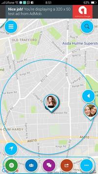FriendsLinks: Friends Locator, Family Kids Tracker poster