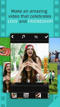 Friends Slideshow Video Maker poster