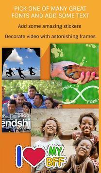 Friends Slideshow Video Maker apk screenshot