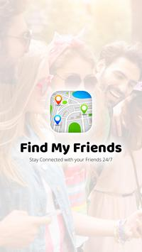 Find My Friends - Location Tracker poster