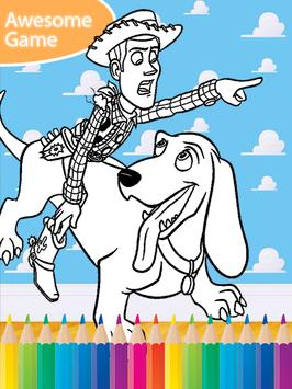Toy Coloring Book for Stories screenshot 2