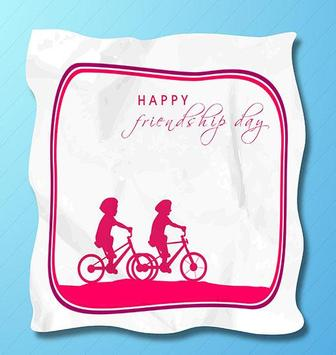 Friendship Day Wish Card poster