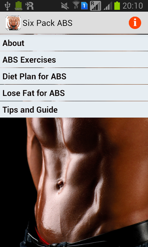 Six Pack ABS pour Android   – fitness