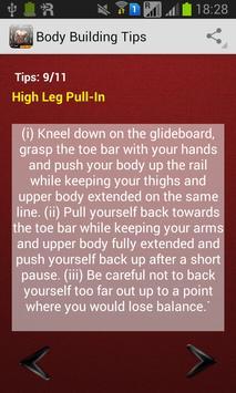 Body Building Tips apk screenshot