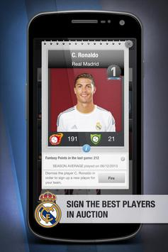 Real Madrid FantasyManager '14 poster