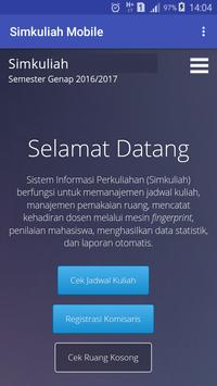 Simkuliah Mobile screenshot 1