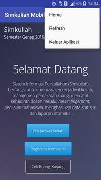 Simkuliah Mobile screenshot 2