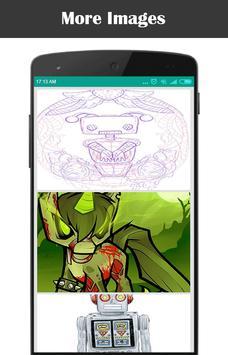 Drawing Robot Step by Step apk screenshot
