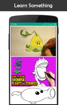 Learn How to Draw All Plants Vs Zombies apk screenshot