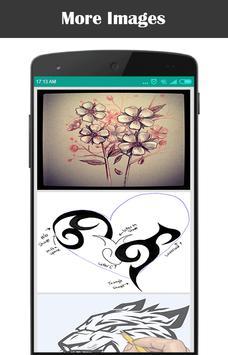 Learn How To Draw Tattoo screenshot 1