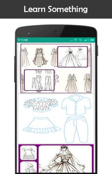 Learn to Draw Clothes apk screenshot