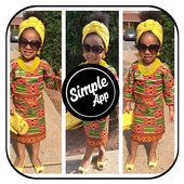 New African Kids Fashion icône