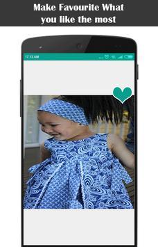 New African Kids Fashion capture d'écran 1