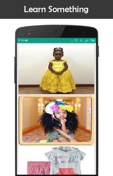 New African Kids Fashion capture d'écran 3