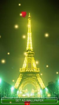 Eiffel Tower Live Wallpaper screenshot 2