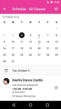 DeeVa Dance & Fitness apk screenshot