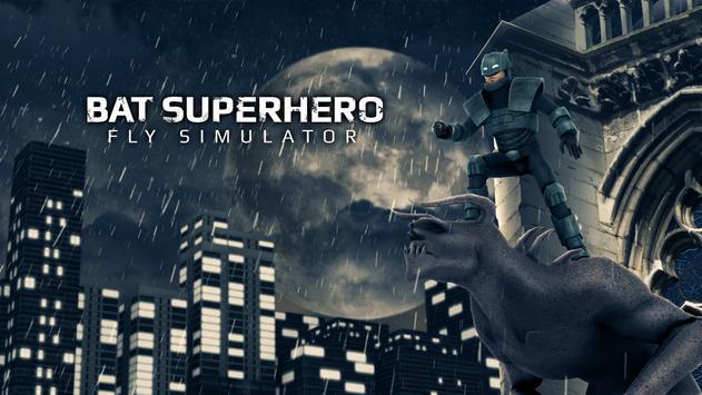Bat Superhero Fly Simulator screenshot 3