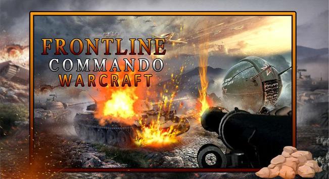 Frontline Commando Warcraft poster