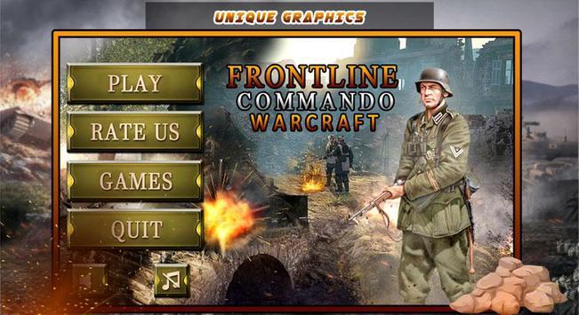 Frontline Commando Warcraft screenshot 1