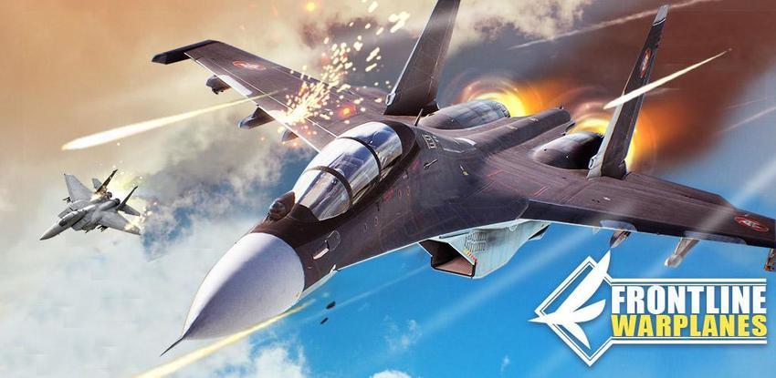 خط المواجهة الطائرات الحربية APK