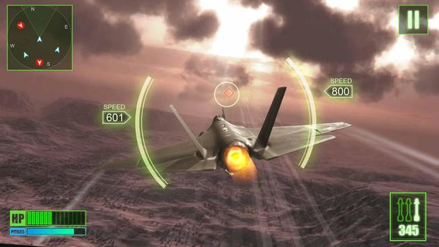 Aviões de guerra da linha de frente Cartaz