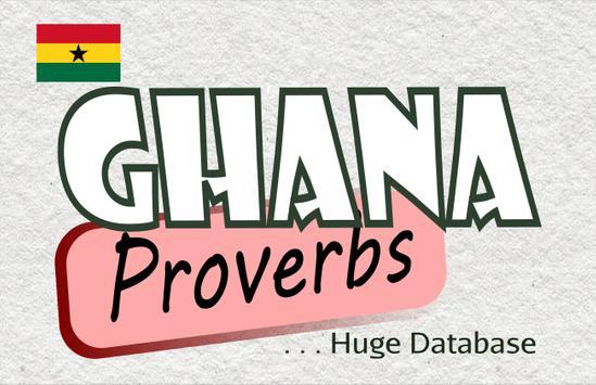 Ghana Proverbs poster