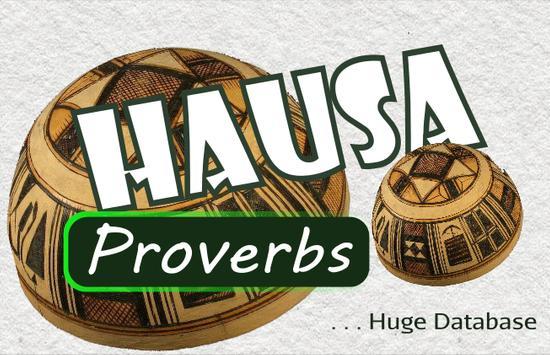 Hausa Proverbs poster