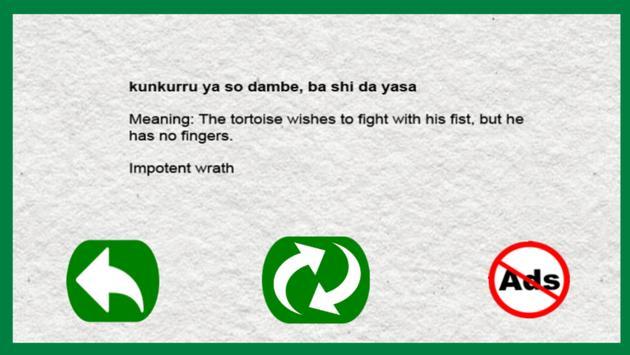 Hausa Proverbs apk screenshot