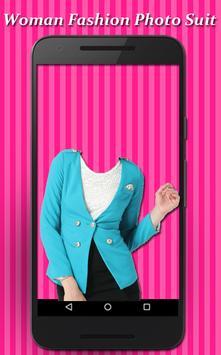 Woman Fashion Photo Suit screenshot 3