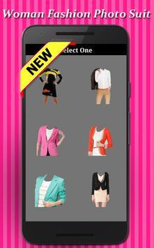 Woman Fashion Photo Suit screenshot 1