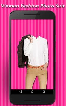 Woman Fashion Photo Suit screenshot 6