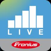 Fronius Solar.web live icon