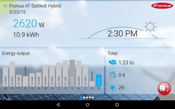Fronius Solar.web live screenshot 4