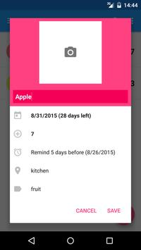FoodEx apk screenshot