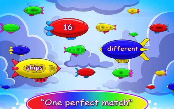 Airship Battle: Matching Color apk screenshot