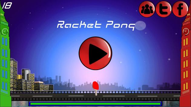 Racket Pong poster