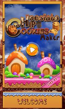 Chocolate Chip Cookies Maker apk screenshot