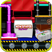 Newspaper Factory - Paper maker & delivery game icon