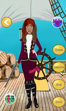 Pirate Girl MakeUp Salon apk screenshot