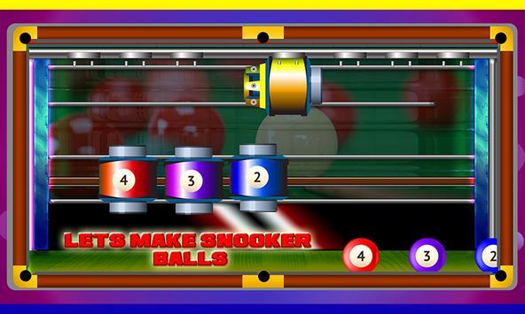 Snooker Factory - Billiard ball making fun screenshot 5