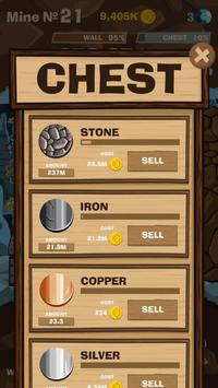 SWIPECRAFT - Idle Mining Game تصوير الشاشة 11