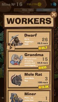 SWIPECRAFT - Idle Mining Game تصوير الشاشة 13