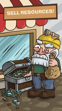 SWIPECRAFT - Idle Mining Game تصوير الشاشة 2