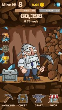 SWIPECRAFT - Idle Mining Game تصوير الشاشة 9