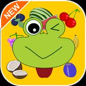 Brainy Fruits Match 3 – Language puzzle Challenge icon